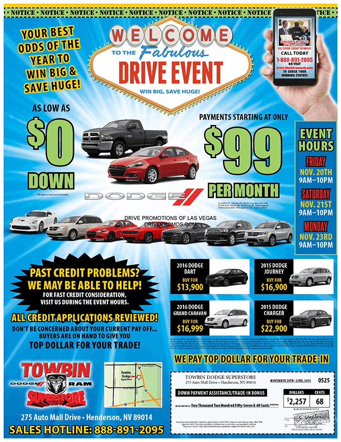 Drive Event Mailer
